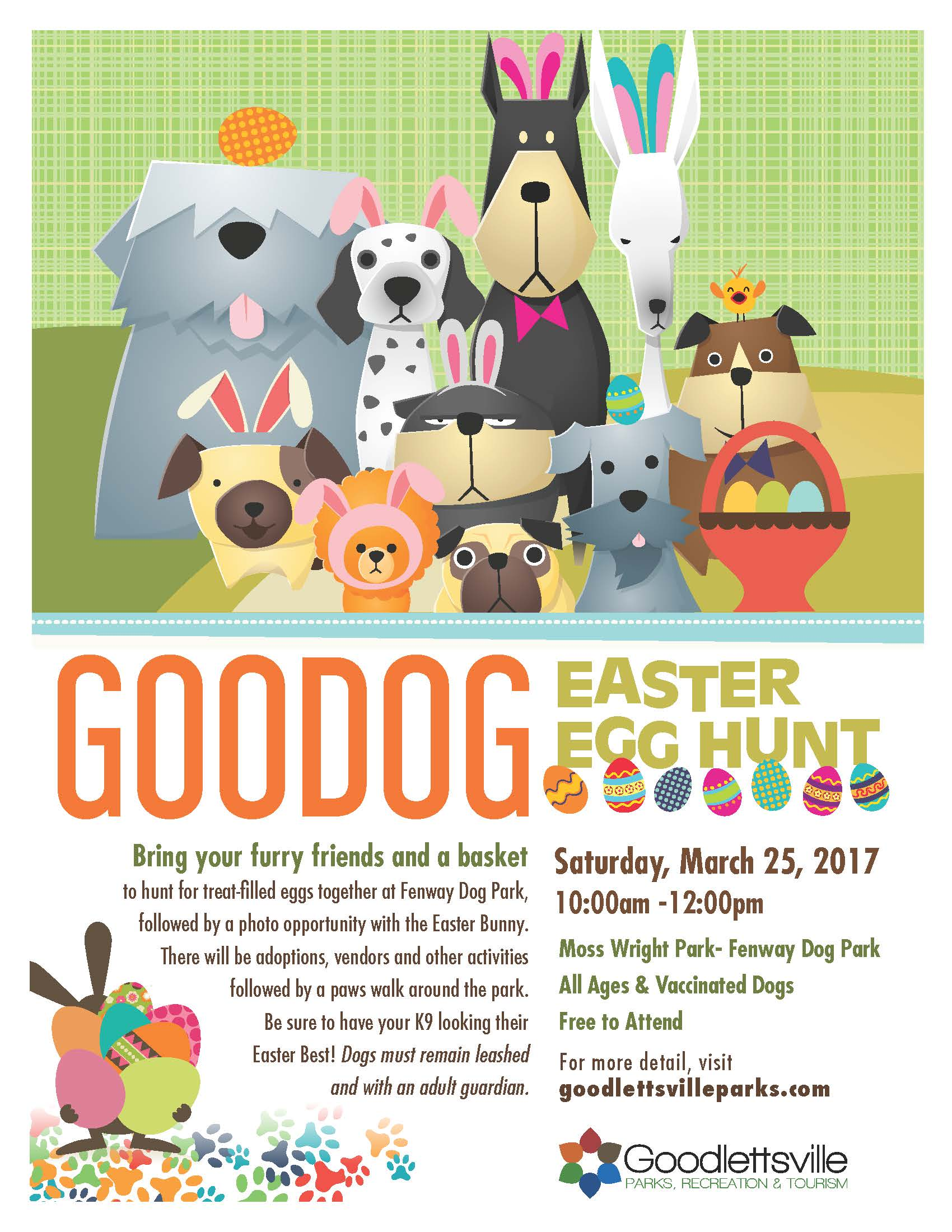 GooDOG Festival & Easter Egg Hunt @ Moss-Wright Park | Goodlettsville | Tennessee | United States