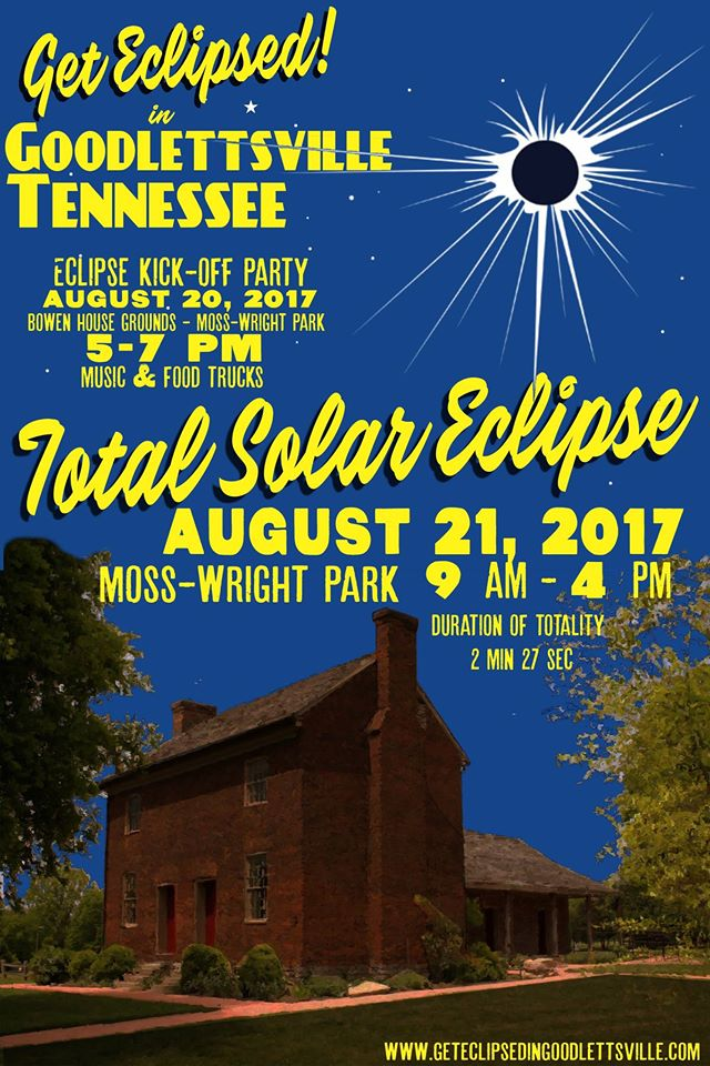 Get Eclipsed in Goodlettsville @ Moss-Wright Park