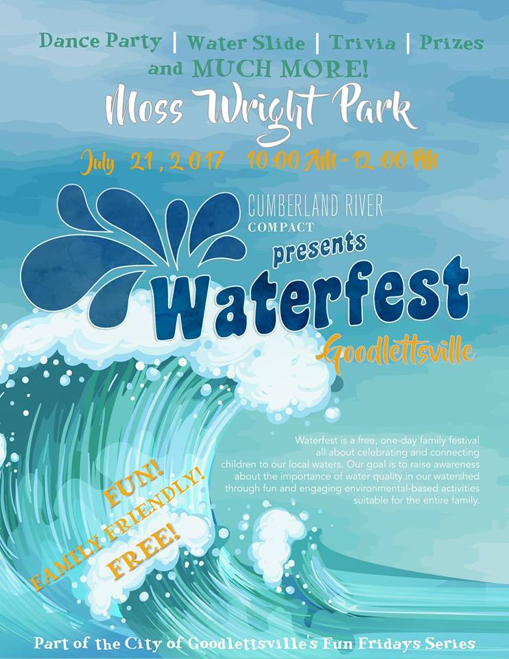Goodlettsville Waterfest @ Moss-Right Park  | Goodlettsville | Tennessee | United States