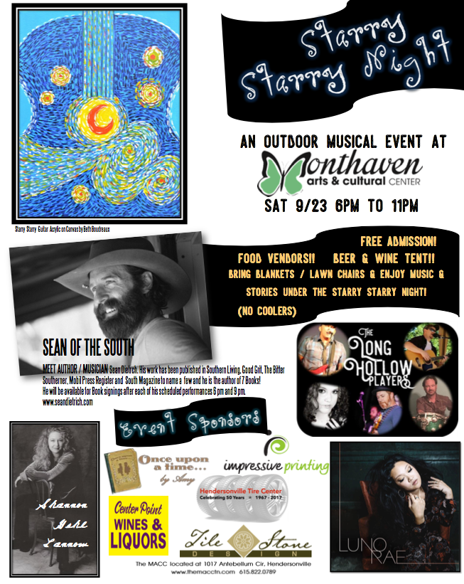 Starry, Starry Night @ Monthaven Arts & Cultural Center | Hendersonville | Tennessee | United States