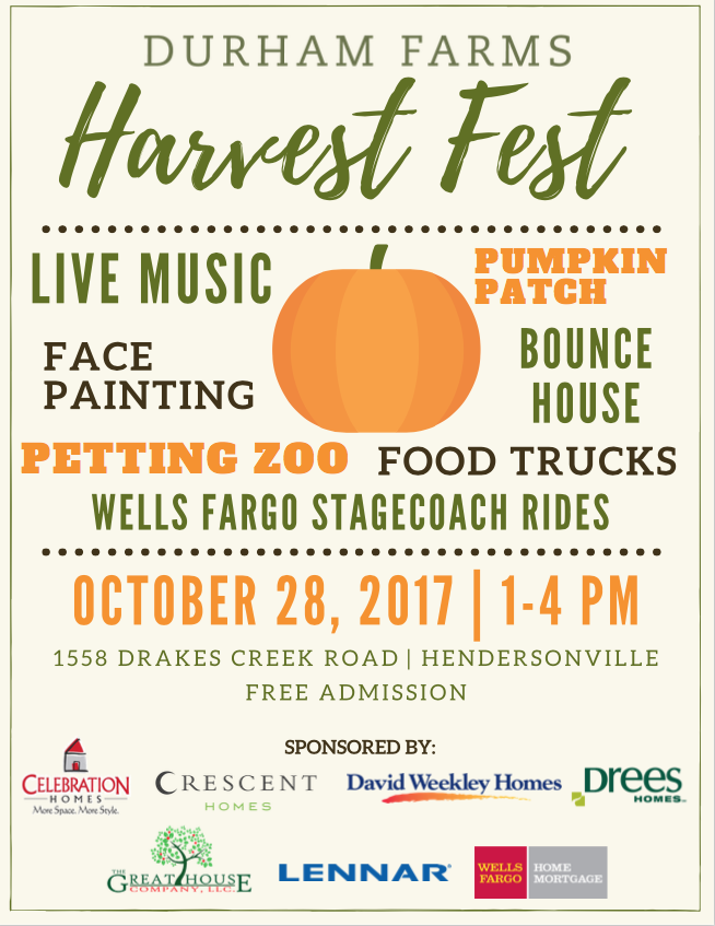 Durham Farms Harvest Fest @ Hendersonville | Tennessee | United States