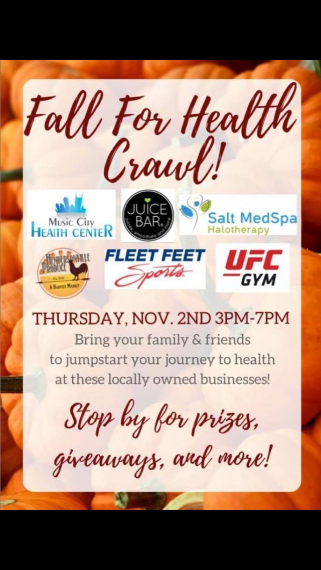 Fall for Health Crawl