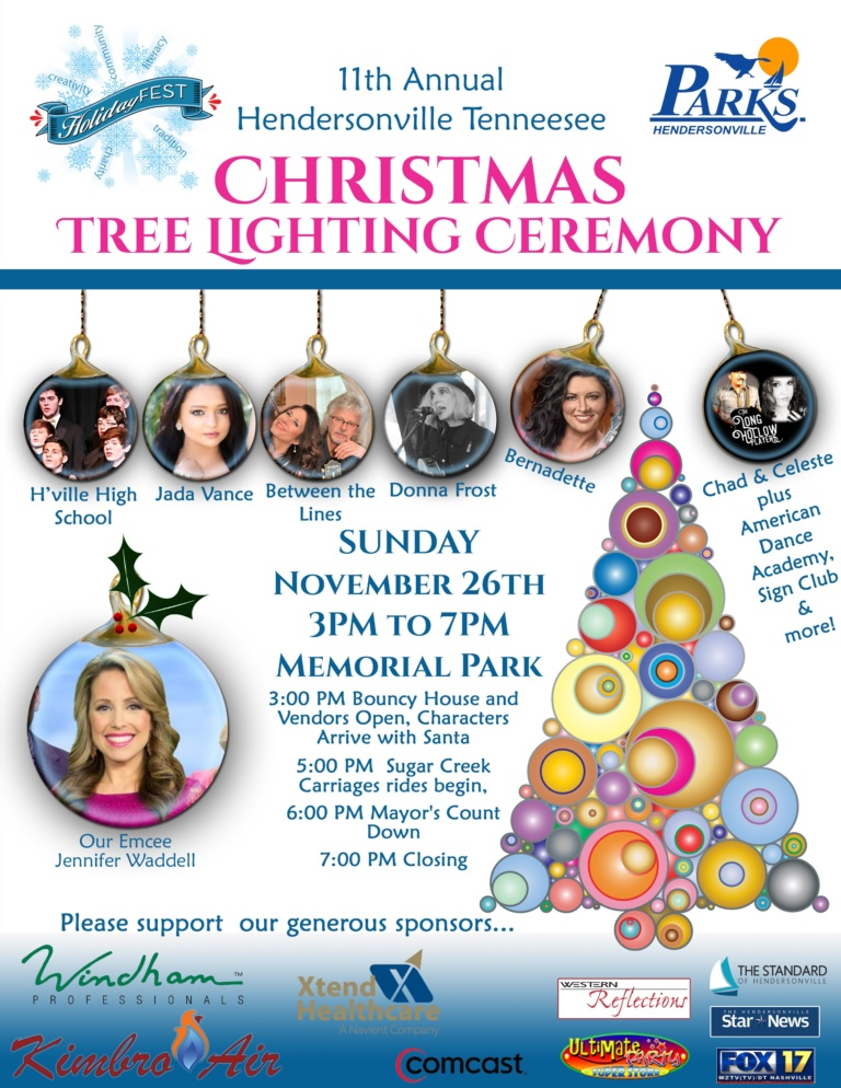 Christmas Tree Lighting @ Memorial Park | Hendersonville | Tennessee | United States