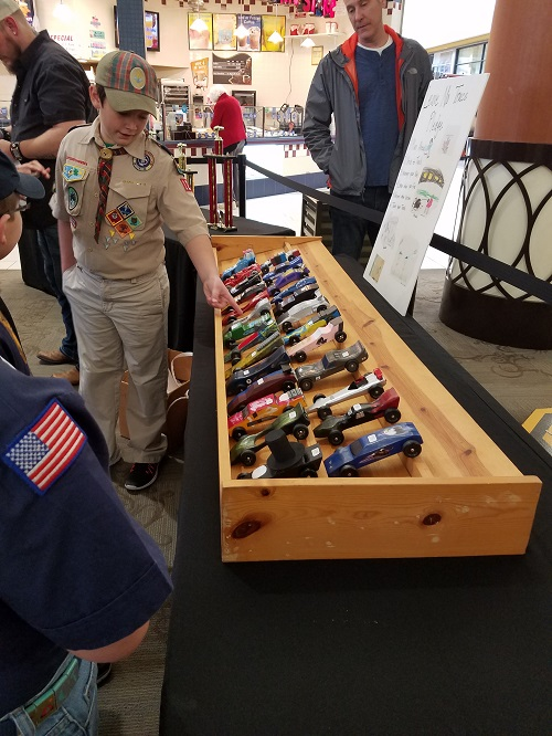Pinewood Derby @ RiverGate Mall
